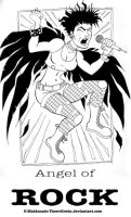 Angel of Rock by theEvilTwin