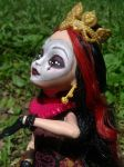 Ever After High Lizzie Custom by AdeCiroDesigns