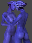 Aria and Tevos (Nude) DL by TheRaiderInside