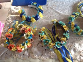 Ukrainian traditions-Wreaths by youchinkim