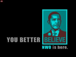 NWO - Obama by limun7
