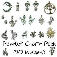 Pewter Charms by Sage-Dreamer