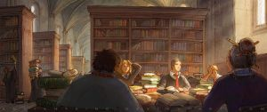 Thinking of Quidditch by AncientKing