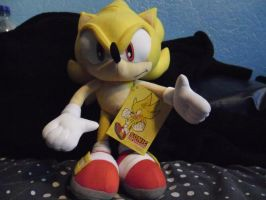 Super Sonic Plush by DarkGamer2011