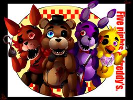 Five nights at freddy's by Hunter134