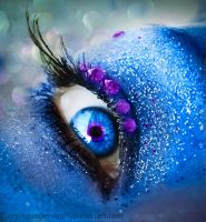 Mermaid Eye by cryingunderwater