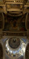 St Isaak's Interior Panorama by syrus