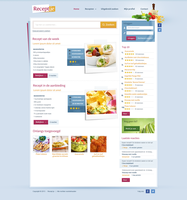 Recipe website by Robke22
