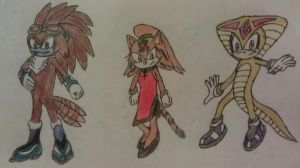 Sonic Adoptables 3 by A5L