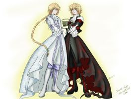 Pandora Hearts by shiroi-kage