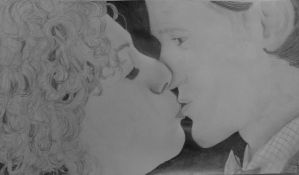 River and 11 Kissing (Let's Kill Hitler) by WhouffleJohnlock