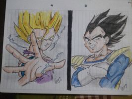 dragon ball z by elianacaro