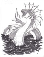 Wyrm, Sea by lvl9Drow