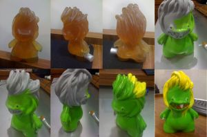 resin toy by Cleytonoliveira