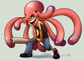+ Octopus Boy Gender Bender + by GummyGumBeat