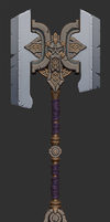 DS2 Maker's Axe Colour Theme by MissMaddyTaylor