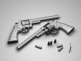 .44 Magnum - wire by ivancg
