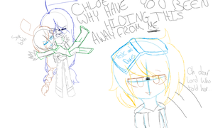 [Draw the squad]oh dear lord who told Elaine...... by LittleGalaxyGirl