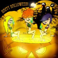 The Kanker Sisters - Halloween by ScribbleNetty