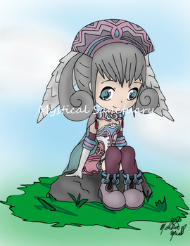 Melia Xenoblade Chronicles by ChiiLissa