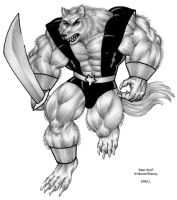 Man-Wolf by Jay-Shell