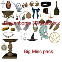 Misc 3d items by 3DigitalStock
