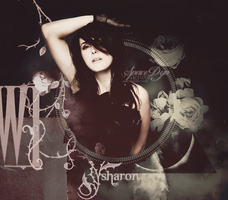 Sharon Den Adel by SpaceDynArtwork