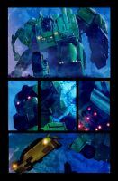 Sunstreaker vs Devastator by LivioRamondelli