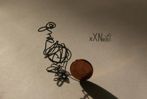 wire duck by xXNeo