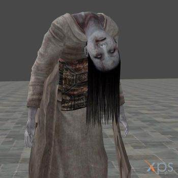 Fatal Frame 2 Ghost - Broken Neck Woman by mz3dcg