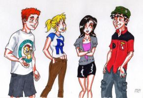Archie and the gang by Magzdilla