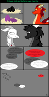 The Beginnining comic page I by FrostTheDragoness