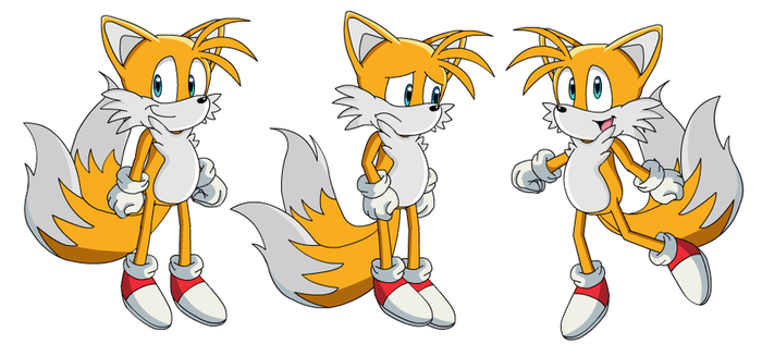 My Tails Model Sonic X Style by DanielPalmer