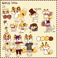 2016 Apple by Nifty-senpai