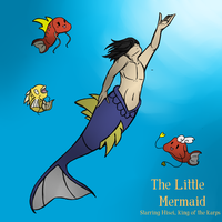 The Little Mermaid: Starring Hisei by ConfirmedStitches