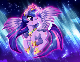 Princess of Wisdom and Magic by ToxicStarStudio