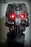 The Integrator - Illuminated Cyberpunk mask by TwoHornsUnited