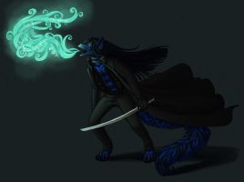 Commission: Razicat: Unseenshade by CannedTalent