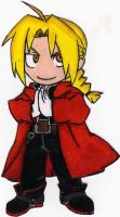 edward elric chibi by Fire-and-Flames