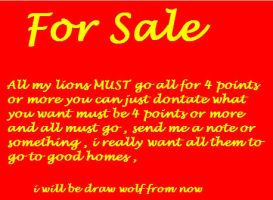 FOR SALE ALL MUST GO by Foreverloved525