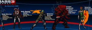 Mass Effect 3 Resistance pack Pt.1 by IHComicsHQ