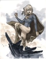 Supergirl - Comic Con Paris 2012 by MahmudAsrar