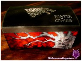 House Stark chest by Shadowisper