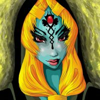 Midna Portrait by Shucca