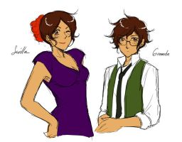 Seville and Granada by hime1999