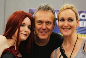 Me + Freddie with  Anthony Stewart Head 2 by Leonie-Heartilly