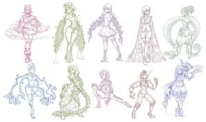 Weird Arm Ladies Part 2! by CauseImDanJones