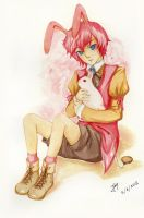 cute rabbit boy by jaynesis