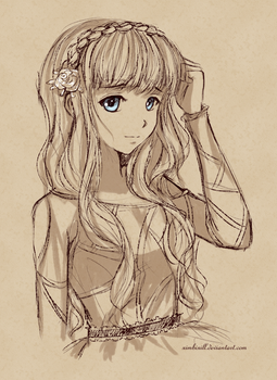Sketch Commission - Miuna by ximbixill
