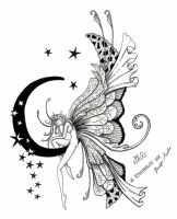 Fairy Tattoo Design by Raknarok-Ink